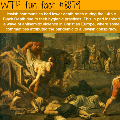 Jewish conspiracy - WTF fun facts