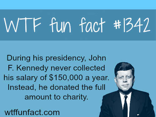 John F Kennedy / money - people's fact