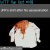jfk shirt after his death