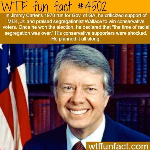Jimmy Carter facts -   WTF fun facts
