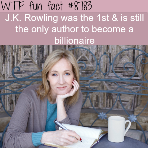 J.K. Rowling - WTF fun facts