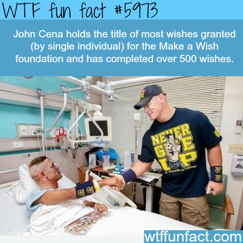 John Cena - WTF fun facts