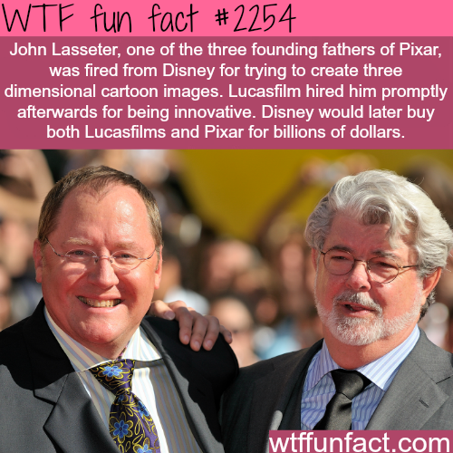 John Lasseter -WTF fun facts