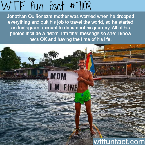 Jonathan Quiñonez - WTF fun facts