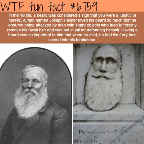 Joseph Palmer - WTF fun fact