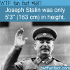 joseph stalin wtf fun fact