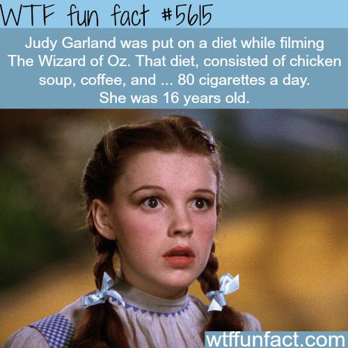 Judy Garland - WTF fun fact