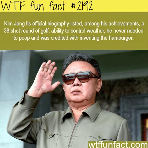 Kim Jong Ils biography -WTF fun facts