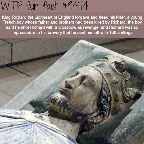 King Richard the Lionheart - WTF fun fact