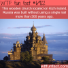 kizhi island russia wtf fun fact