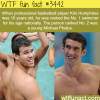 kris humphries was better swimmer than micheal phelps