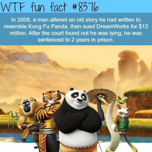 Kung Fu Panda - WTF fun facts