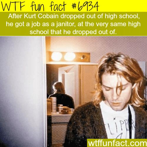 Kurt Cobain - WTF fun fact