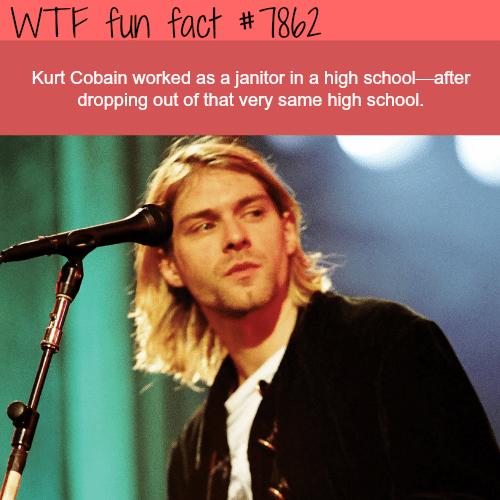 Kurt Cobain - WTF fun facts