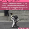 la la the cute pet penguin in japan