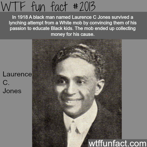 Laurence C. Jones History Facts - WTF fun facts
