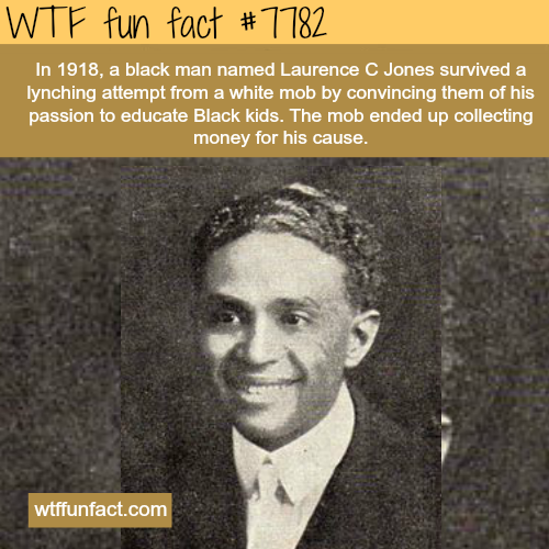Laurence C Jones - WTF fun facts