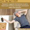lazy teenagers wtf fun facts