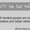 left handed people