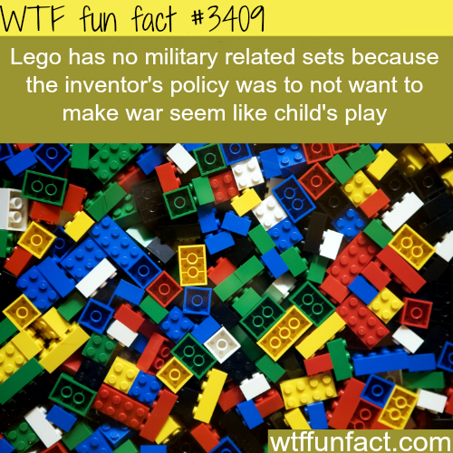 Lego military sets -  WTF fun facts
