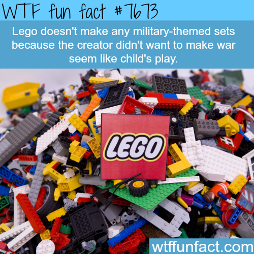Lego military-themed sets - WTF fun facts