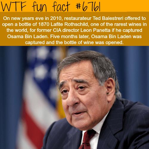 Leon Panetta - WTF fun fact