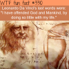 leonardo da vincis last words wtf fun facts