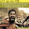 leonidas of sparta wtf fun facts