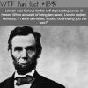 lincolns sense of humor wtf fun facts