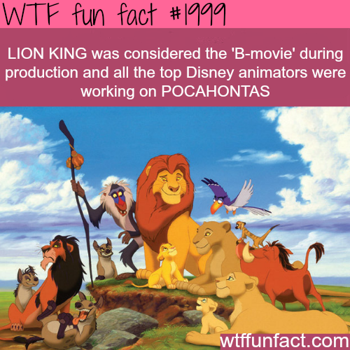 Lion King facts -WTF fun facts