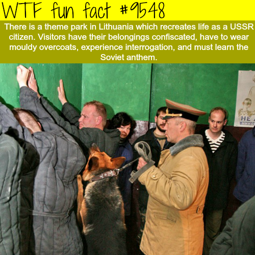 Lithuania's Soviet-themed park - WTF fun fact