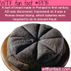 loaf of bread from the first century ad found in