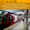 london undergrounds wtf fun facts