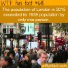 londons population wtf fun facts
