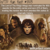 lord of the rings facts wtf fun facts