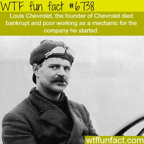 Louis Chevrolet - WTF fun fact