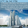 luxury hospital that looks like a ship wtf fun