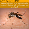 malaria wtf fun facts