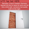 man in germany walks into a brick wall wtf fun