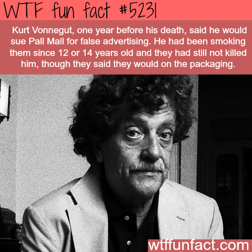 Man sues cigarette company for not killing him - WTF fun facts