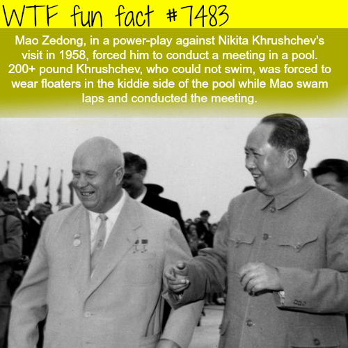 Mao Zedong power play against Nikita Khrushchev - FACTS