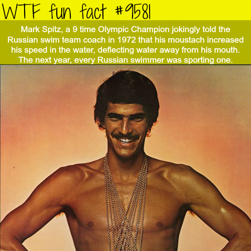Mark Spitz - WTF fun fact