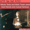 mark twain and nikola tesla