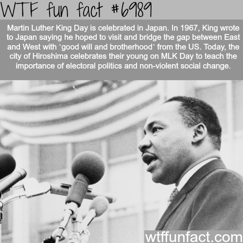 Martin Luther King - WTF fun fact