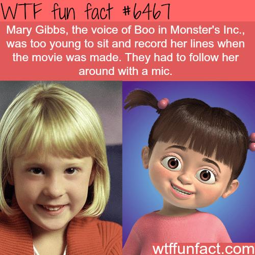 Mary Gibbs -WTF fun facts