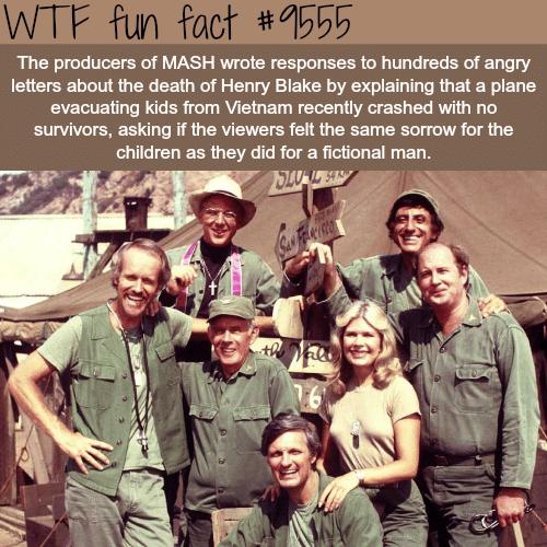 MASH - WTF fun fact