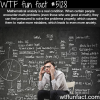 mathematical anxiety wtf fun facts