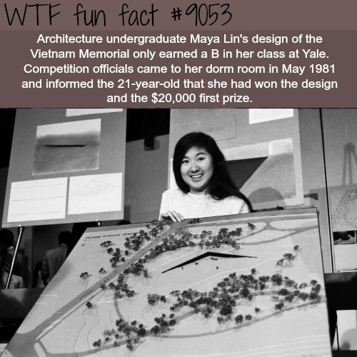 Maya Lin - WTF fun facts