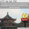 mcdonald s hamburger university in china