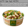 mcdonalds caesar salad wtf fun facts